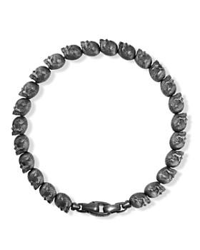 David Yurman - David Yurman Spiritual Beads Skull Bracelet
