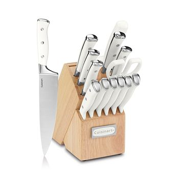 Cuisinart - Triple Rivet 15-Piece Cutlery Block Set
