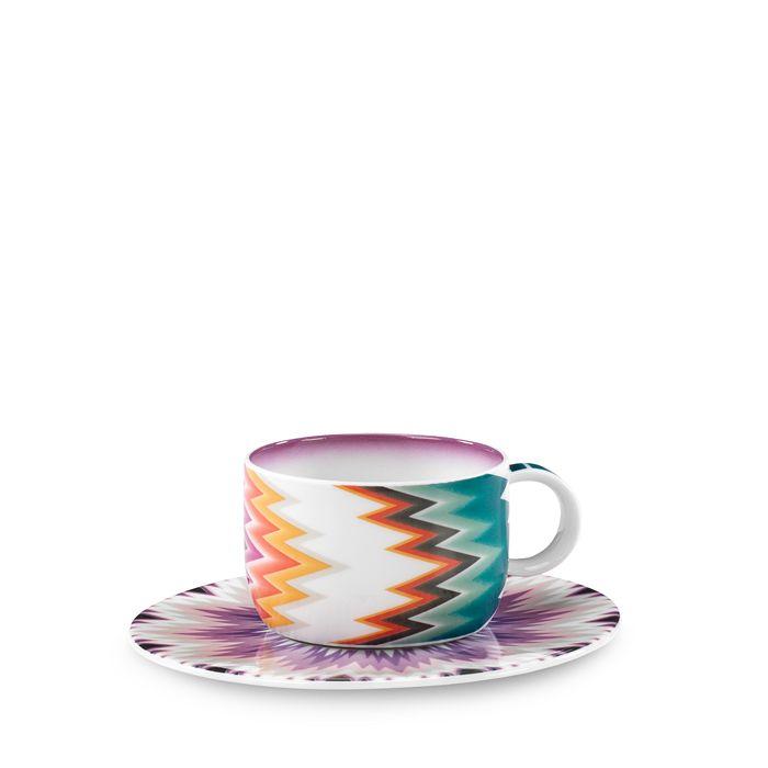 Missoni - Zigzag Tea Saucer