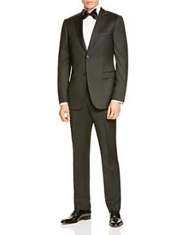 Z Zegna - Black Wool Drop 8 Slim Fit Suit