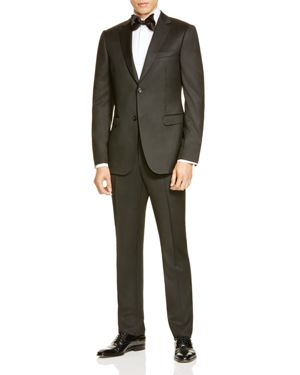 Z Zegna Black Wool D8 Slim Fit Suit thumbnail