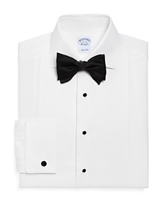 Brooks Brothers Pique Bib Classic Fit Tuxedo Shirt - Bloomingdale's_0