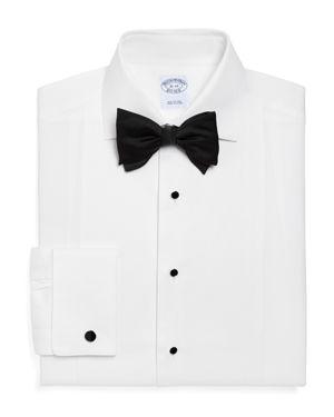 Brooks Brothers Pique Bib Classic Fit Tuxedo Shirt