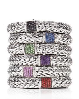 JOHN HARDY - Classic Chain Sterling Silver Bracelet, 10.5mm width