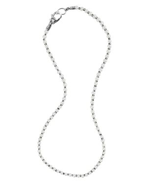 Lagos Sterling Silver Luna Freshwater Pearl Necklace, 18