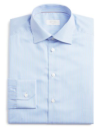 Eton - Bengal Stripe Slim Fit Dress Shirt
