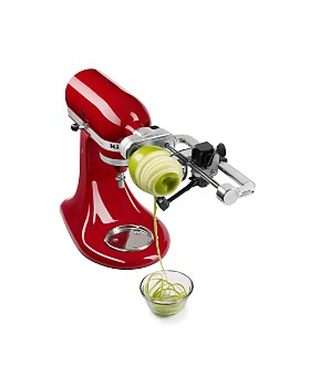 KitchenAid - 5-Blade Spiralizer with Peel, Core and Slice Attachment #KSM1APC