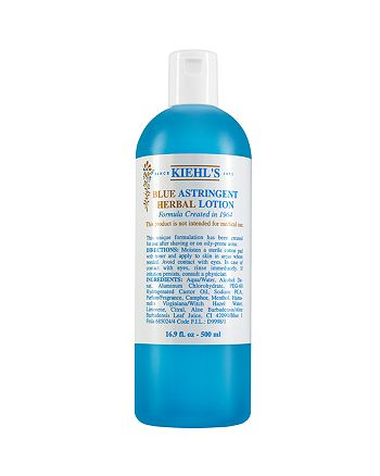 Kiehl's Since 1851 - Blue Astringent Herbal Lotion 16 oz.