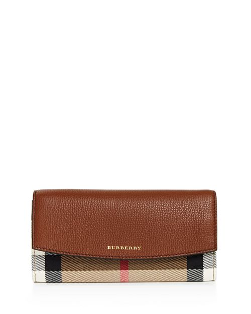 Burberry - House Check Porter Leather Wallet