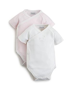 Absorba Girls Side Snap Bodysuits Set of 2  Baby