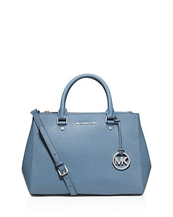 f20aba8a5f0f MICHAEL Michael Kors Satchel - Sutton Medium | Bloomingdale's