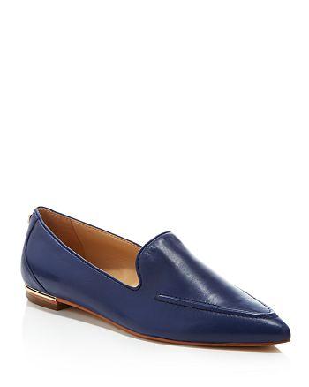 IVANKA TRUMP - Zariner Pointed Toe Loafer Flats