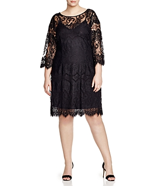 Bb Dakota Plus Candy Lace Dress
