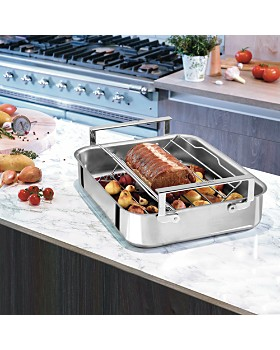Cristel - Tri-Ply Stainless Steel Roaster