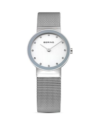 Bering - Classic Mesh Strap Watch, 26mm
