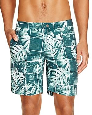 Onia Calder Jungle Leaf Swim Trunks