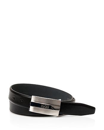 BOSS Hugo Boss - Baxter Plaque Leather Belt