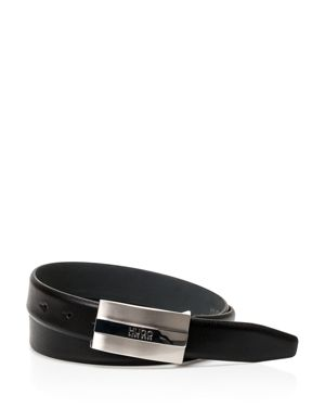 Hugo Boss Baxter Plaque Leather Belt thumbnail