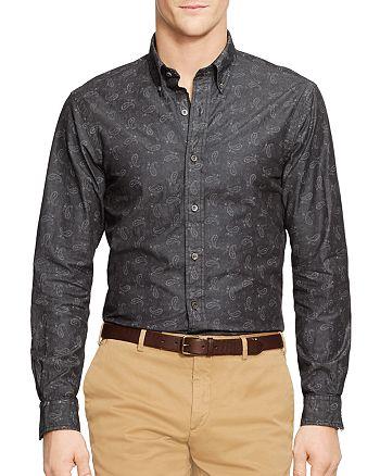 da0ea9751 Polo Ralph Lauren - Bandana Paisley Chambray Slim Fit Button-Down Shirt