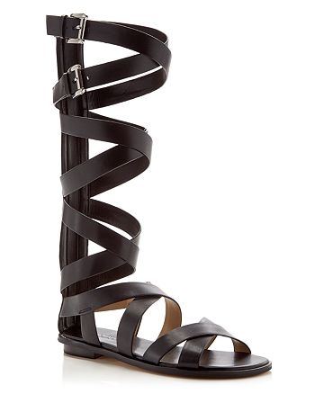 MICHAEL Michael Kors - Darby Buckle Flat Gladiator Sandals