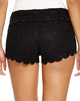 Surf Gypsy - Crochet Swim Cover-Up Shorts