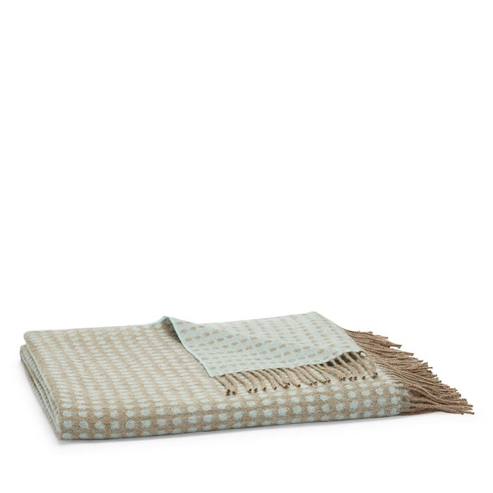 Simple Things - Double-Face Dotty Alpaca Throw