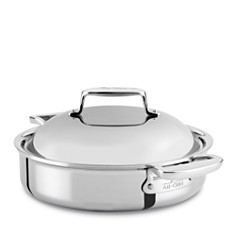 All Clad d7 Stainless 4 Quart Braiser with Lid - Bloomingdale's Registry_0