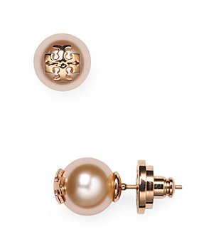 Tory Burch - Simulated Pearl Stud Earrings