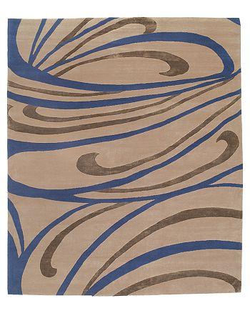 Tufenkian Artisan Carpets - Peacock Indigo Area Rug, 12' x 16'