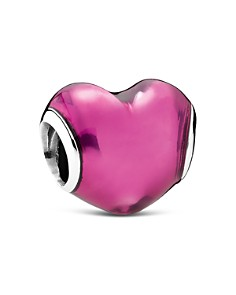 PANDORA Moments Collection Sterling Silver & Murano Glass In My Heart Charm - Bloomingdale's_0
