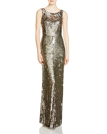Parker - Sleeveless Sequin Gown