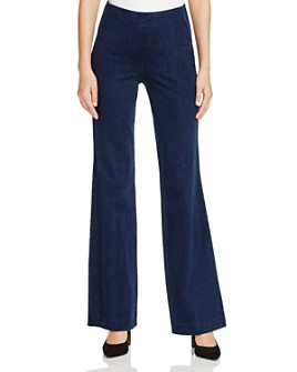 Lyssé - Flared Pull-On Jeans