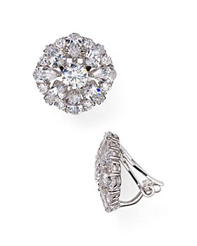 Nadri - Stud Clip-On Earrings