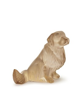 Lalique - Golden Retriever, Gold Luster