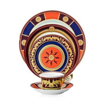 $Rosenthal Meets Versace Iconic Heroes Dinnerware - Bloomingdaleu0027s  sc 1 st  Bloomingdaleu0027s & Rosenthal Meets Versace Iconic Heroes Dinnerware | Bloomingdaleu0027s