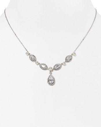 "Nadri - Swarovski Crystal Pendant Necklace, 16"""