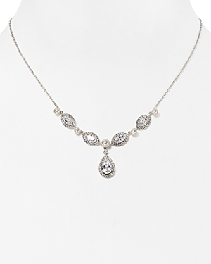 Nadri Swarovski Crystal Pendant Necklace, 16