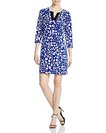 Laundry by Shelli Segal - Three-Quarter Sleeve Matte Jersey Dress