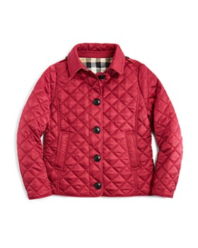 Burberry - Girls' Diamond Quilted Jacket - Little Kid, Big Kid