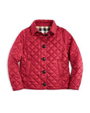 fe114e60d Burberry Girls' Diamond Quilted Jacket - Little Kid, Big Kid ...