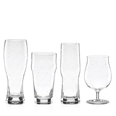 kate spade new york Larabee Dot Variety Beer Glasses, Set of 4 - Bloomingdale's Registry_0