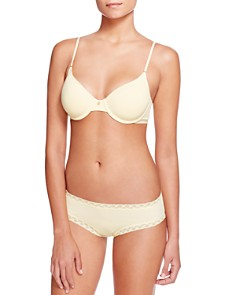 Natori - Understated Contour Underwire T-Shirt Bra & Bliss French Cut Bikini