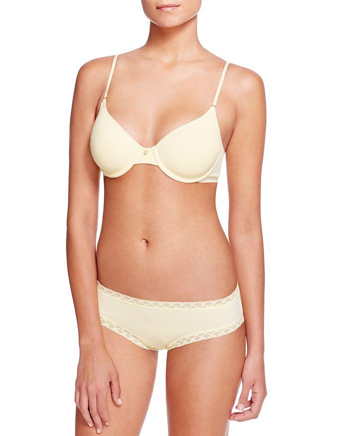 Natori - Understated Contour Underwire T-Shirt Bra & Bliss French Cut Bikini