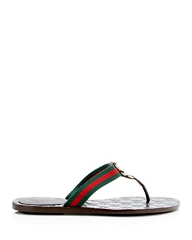 8a956ed10cc4 Gucci - Women s GG Thong Sandals Gucci - Women s GG Thong Sandals
