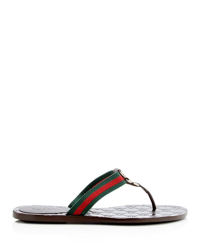 5043739cb310c0 Gucci - Women s GG Thong Sandals