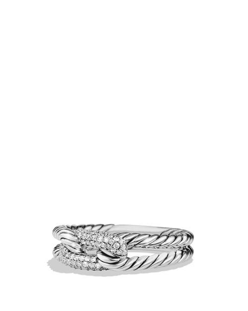 David Yurman - Petite Pavé Ring with Diamonds