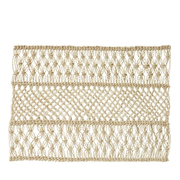 Juliska - Macrame Placemat, Natural