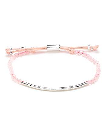 Gorjana - Silver-Tone Stone Beaded Bracelet