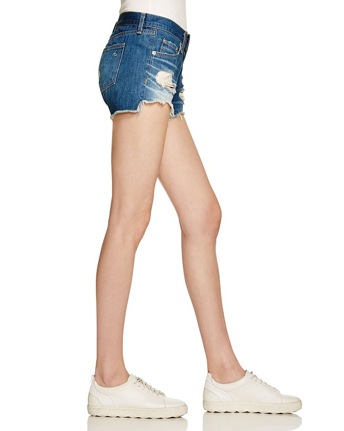 6723da0ce8b rag   bone JEAN - Cutoff Denim Shorts in Freeport