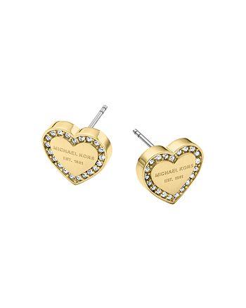 Michael Kors - Heart Stud Earrings